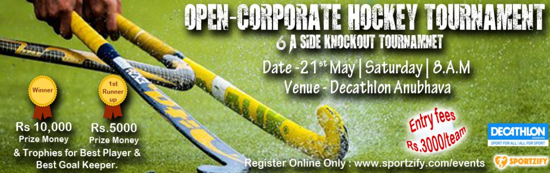Open Corporate Hockey Tournament