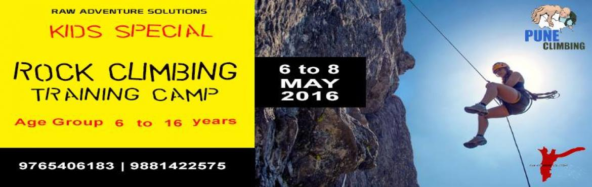 Kids Special - Rock Climbing Training Camp in Pune