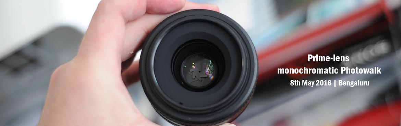 Prime-lens monochromatic Photowalk