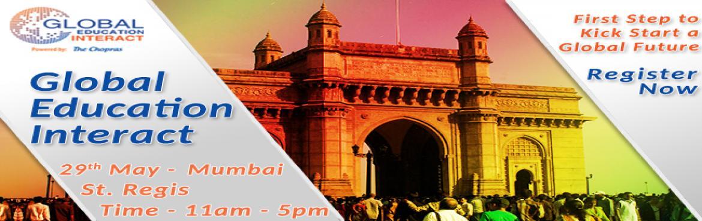 The Chopras - Global Education Fair 2016 in Mumbai