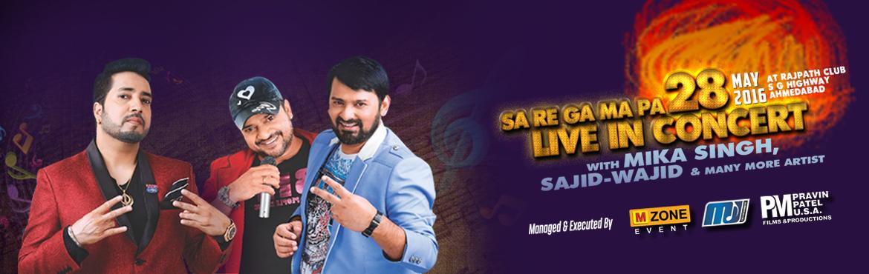 Sa Re Ga Ma Pa live in concert at Rajpath Club Ahmedabad