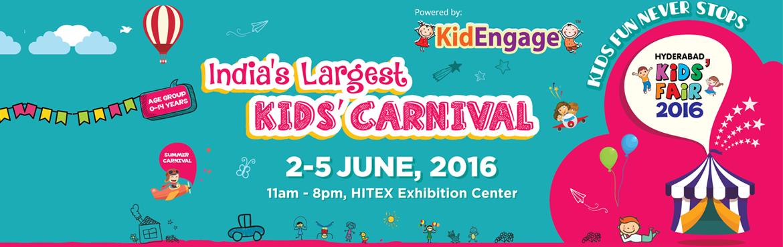 7th Edition Hyderabad Kids Fair - 2016