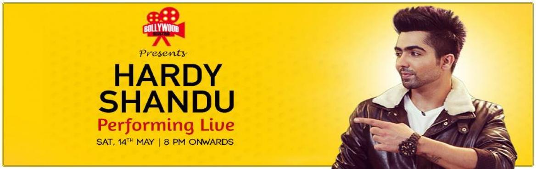 Hardy Sandhu Live @Bollywood Biistro