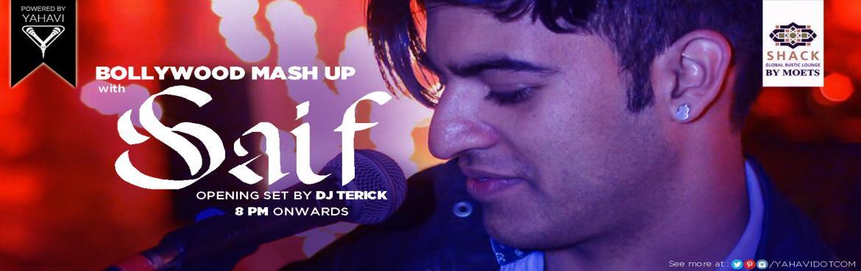 Bollywood Mashup with Saif at Moets Shack