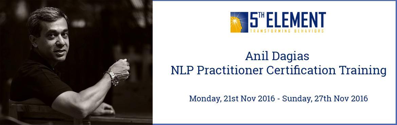 Anil Dagias NLP Practitioner Certification Training - Nov 2016 Pune