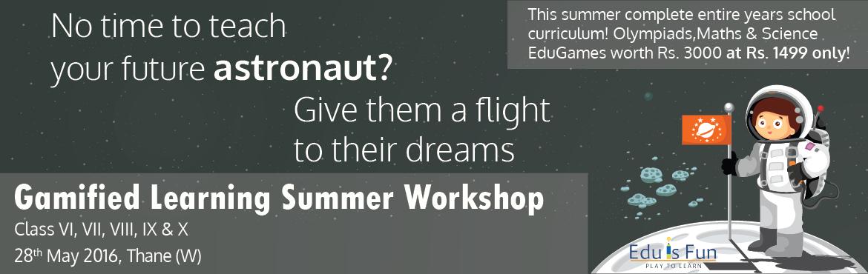 Eduisfun - Gamified Learning Summer Workshop