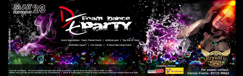 FOAM DANCE PARTY and DJ NAIK Birthday Bash