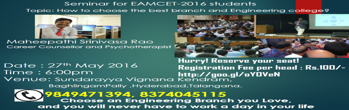 How to choose the Best Branch and Engineering College.