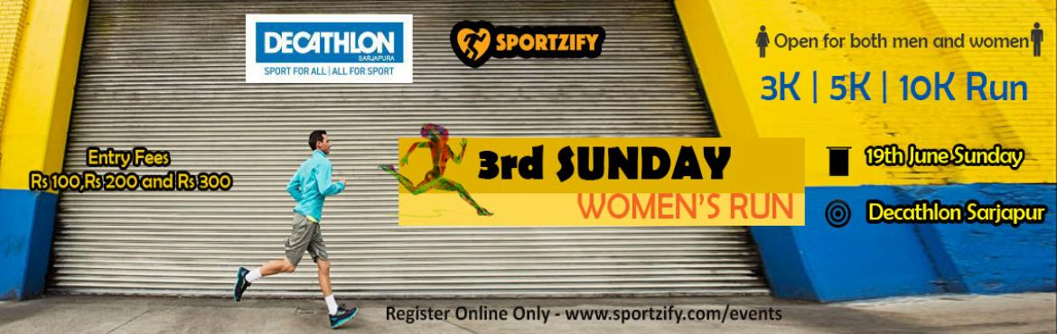 3rd Sunday Womens Run June