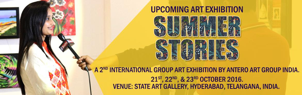 A second International Group Art Exhibition in Hyderabad, By ANTERO ART GROUP INDIA
