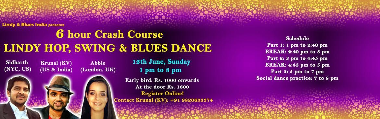 6 hour Crash Course - Lindy Hop, Swing and Blues Dance
