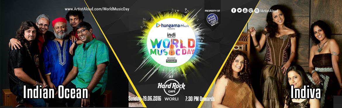 World Music Day with Indian Ocean and Indiva