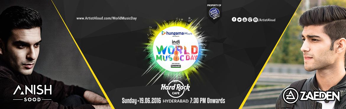 World Music Day with Anish Sood and  Zaeden