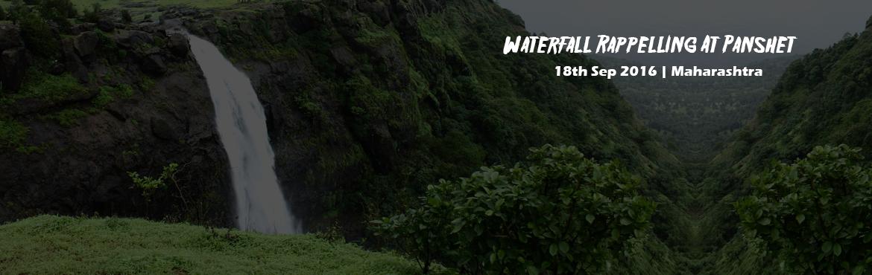 Waterfall Rappelling At Panshet