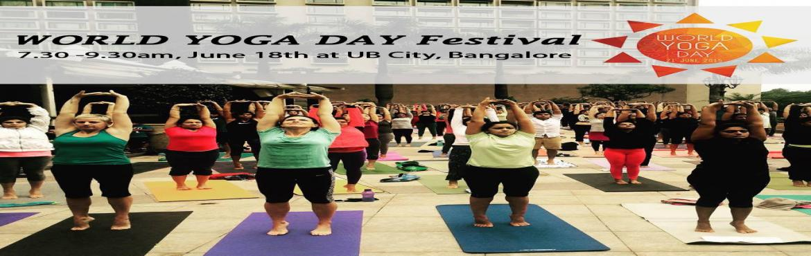 World Yoga Day Festival by Total Yoga and Artsphere