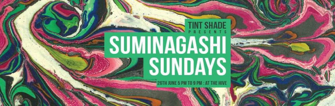 Suminagashi Sundays at The Hive