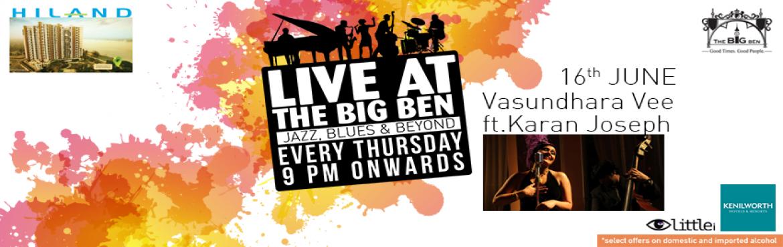 Jazz,Blues and Beyond with Vasundhara V ft Karan Joseph