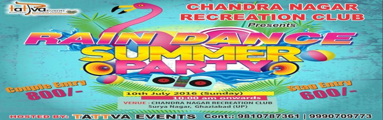 RAIN DANCE SUMMER PARTY 10TH JUly 2016 TATTVA EVENTS  copy