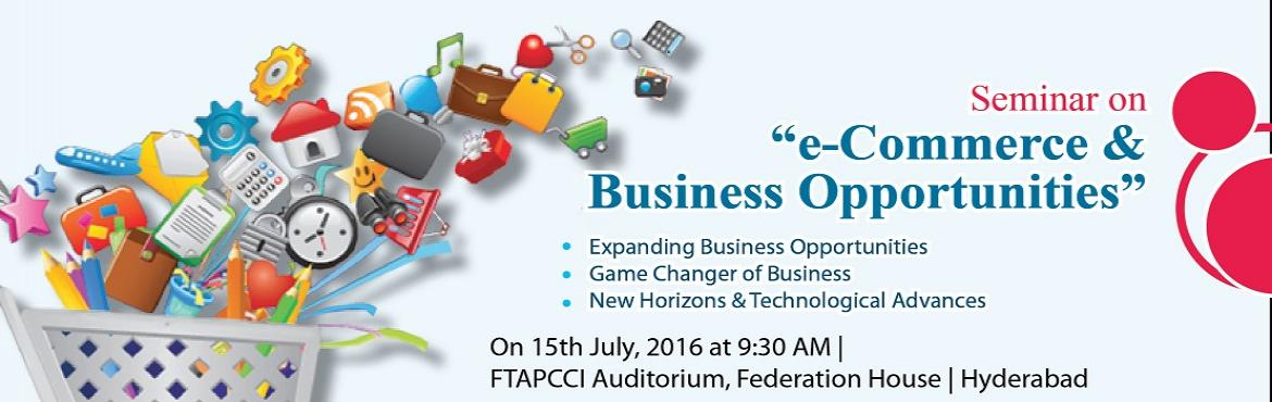 e-Commerce and Business Opportunities