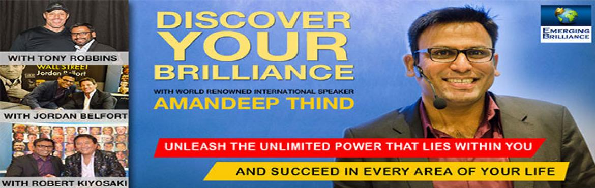 Discover Your Brilliance with Amandeep Thind