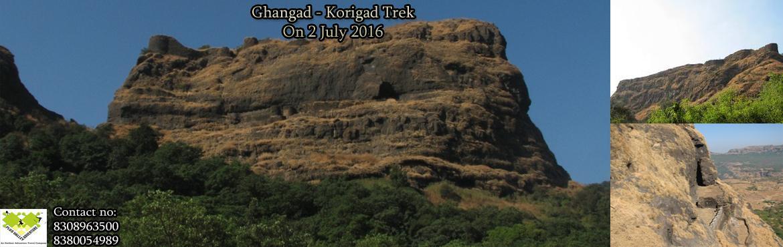 Ghangad - Korigad  Trek