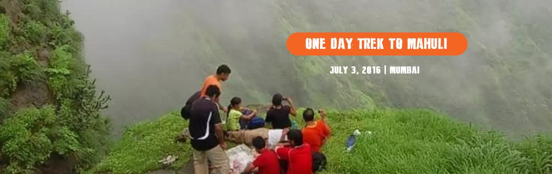 One Day Trek to Mahuli Fort near Asangaon on Sunday 3rd July 16