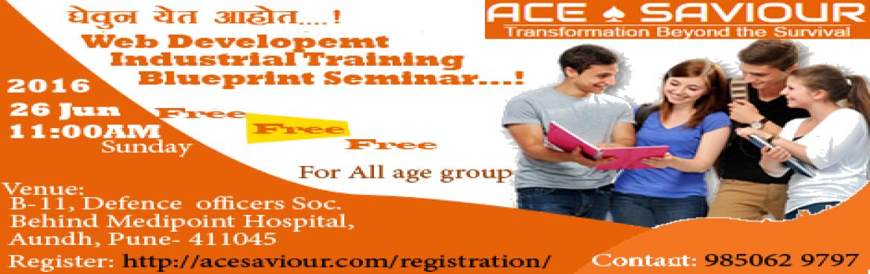 Interested Web development Industrial training