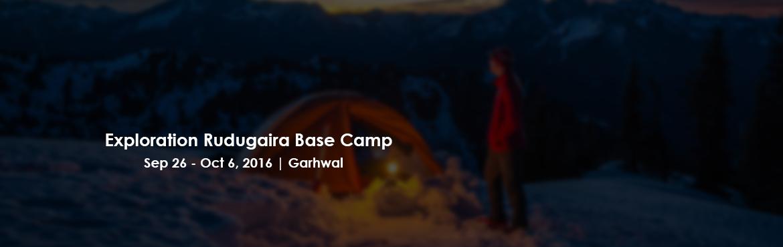 Exploration Rudugaira Base Camp