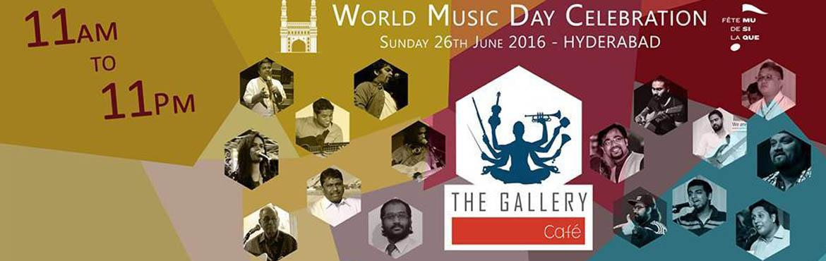 World Music Day at The Gallery Cafe