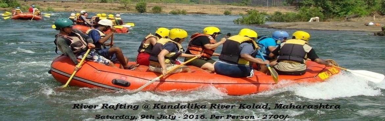 River Rafting at Kolad - One Day Trip, 9th July - 2016