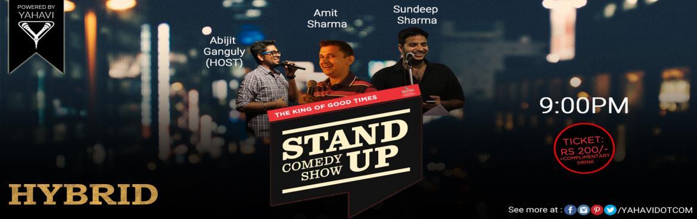 Comedy Night at Hybrid, C.P