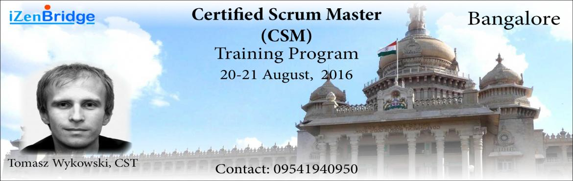 Certified Scrum Master Training in Bangalore