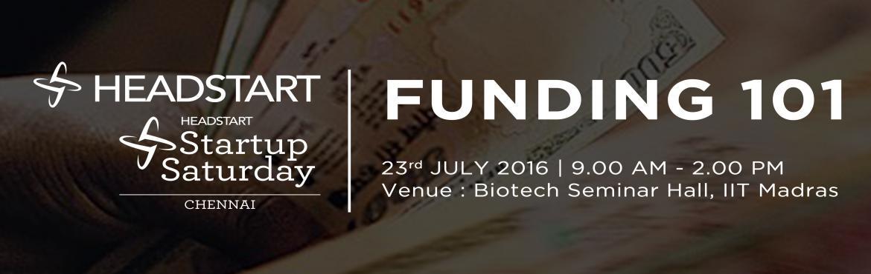 Startup Saturday Chennai - July 2016