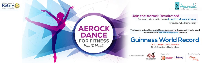 GUINNESS WORLD RECORD - AEROCK DANCE (Fun and Masti Dance Aerobics)