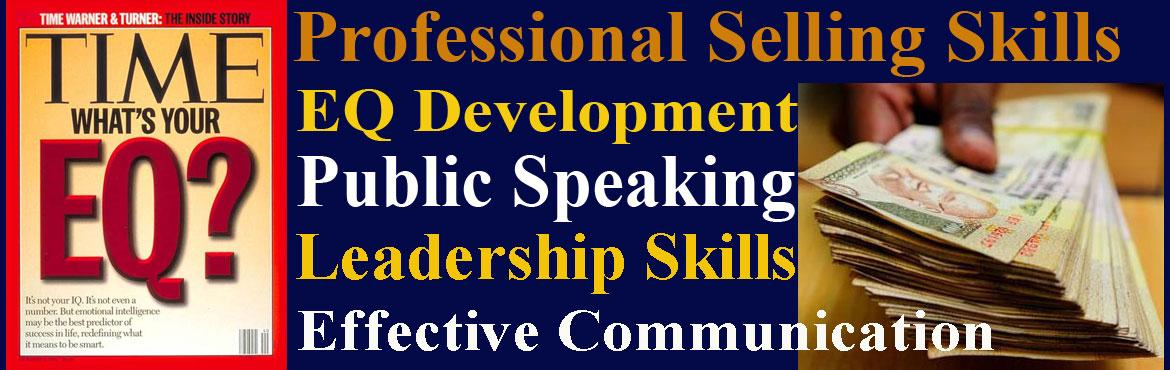 Professional Selling Skills and EQ Development Workshops for only 12 participants from 10am to 5pm