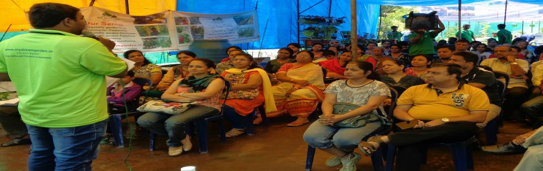 Organic Vegetable Gardening and Composting workshop @Indira Nagar