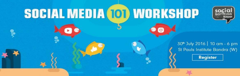 Social Media 101 Workshop for Startups 30 July 2016