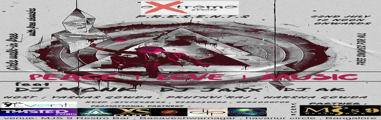 Peace Love Music ft MONK With DJ Monk Farhan