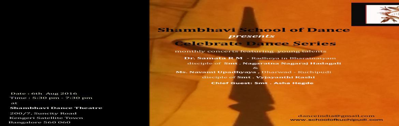 Shambhavi - Celebrate Dance Series 2016 copy