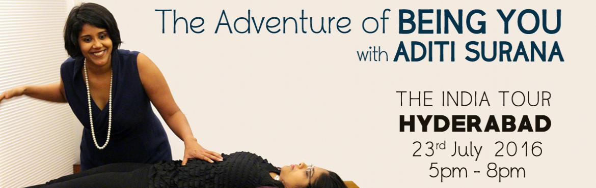 The Adventure of Being You with Aditi Surana