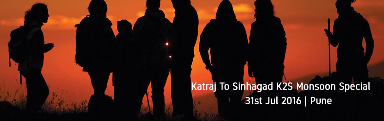 Katraj To Sinhagad K2S Monsoon Special