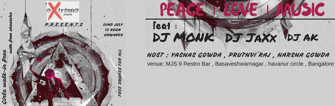 Peace Love Music f t MONK With DJ Monk Farhan