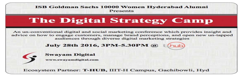 ISB-GS 10000 Women Alumni committee present Digital Strategy Camp