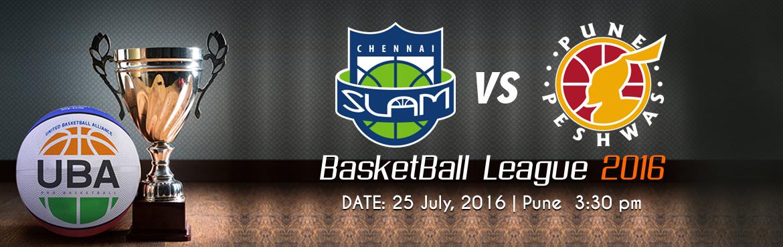 UBA Indian Season 3(Semi Finals 2) - Chennai Slam vs Pune Peshwas
