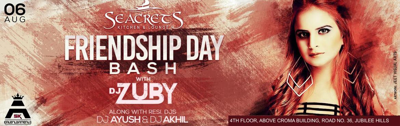 Friendship Day Bash with DJ Zubi