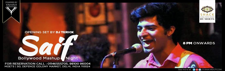 Bollywood Mashup Night  with Saif at Moets Shack
