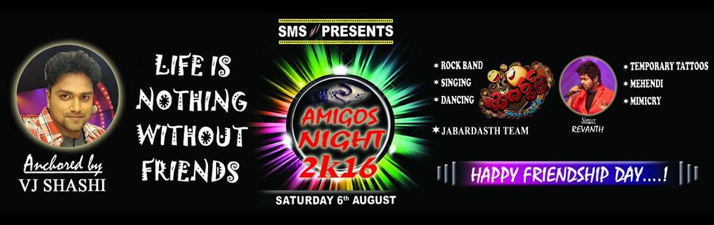 AMIGOS NIGHT 2K16