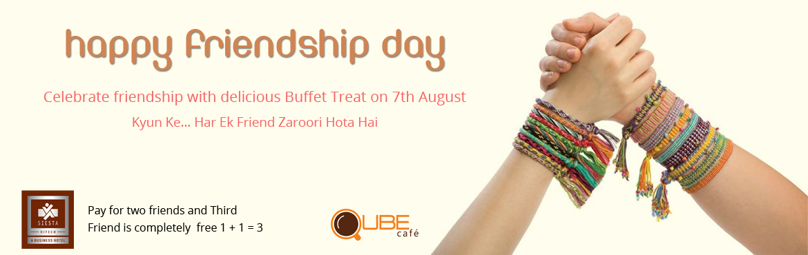 Friendship Day Celebration at Qube Cafe