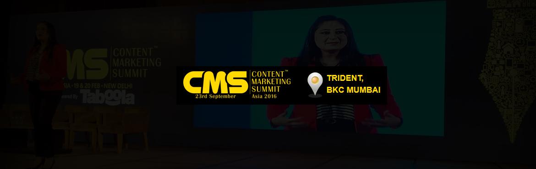 Content Marketing Summit Asia 2016