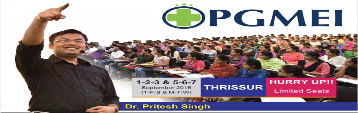 SURGERY ESSENCE Lecture (6 Days) by Dr. Pritesh Kumar @ PGMEI Thrissur
